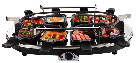 Raclette no top plate